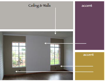 Purple And Gold For A Room Decorating By Donna Intuitive Color Expert