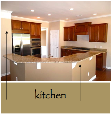 Kitchen and Living Room Colors