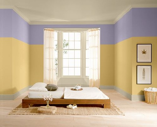 This Bedroom From The Behr Color Center Shows Some Poor Choices