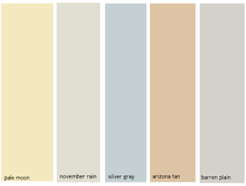 Image Result For Coastal Interior Paint Colors