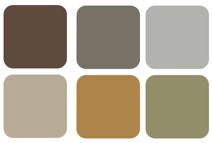 Earthy Colors decoratingdonna • color expert | a virtual color expert who is
