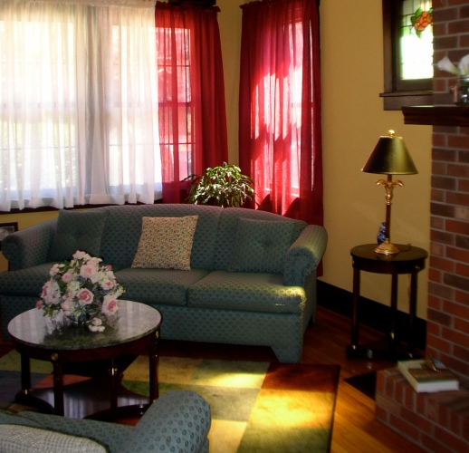 Gold Lavender Living Room Classy