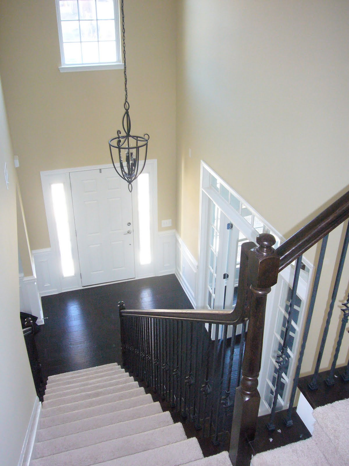 Open Foyer Pictures : What color should i paint my foyer decorating by donna