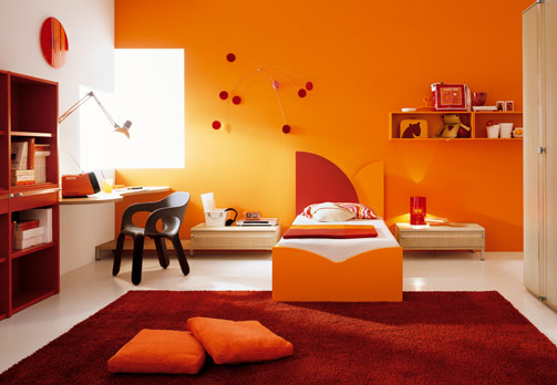 At what age does color stop letting your kids choose for Childrens room decor