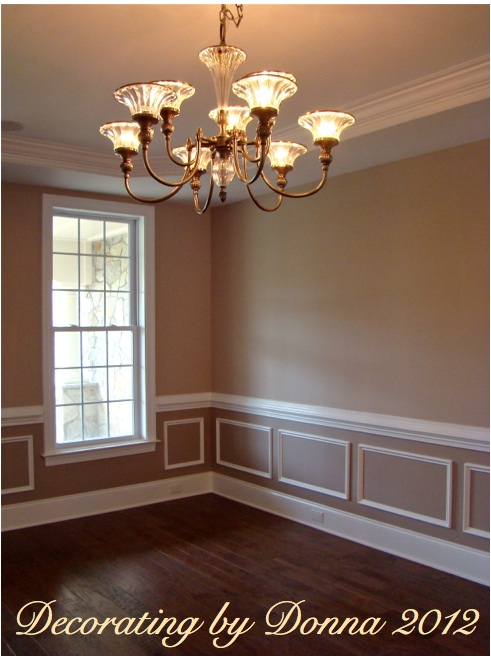 Color for the homes in marvin creek waxhaw decorating Two color rooms