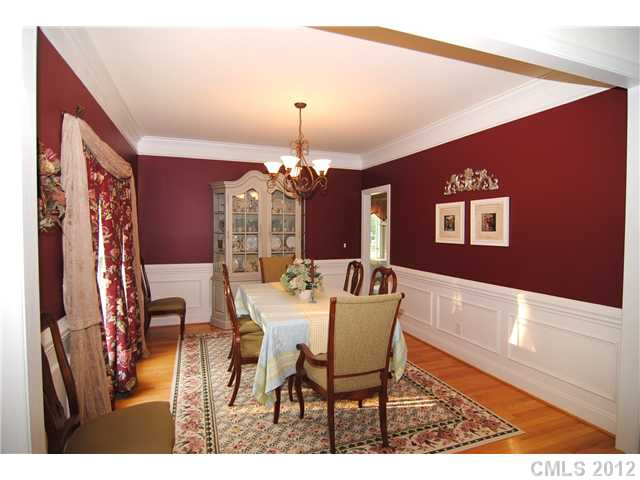 beautiful red dining rooms ideas - gracepointenaperville