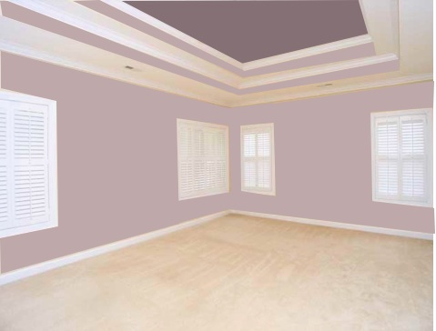 What color should I paint the tray ceiling in my bedroom ...