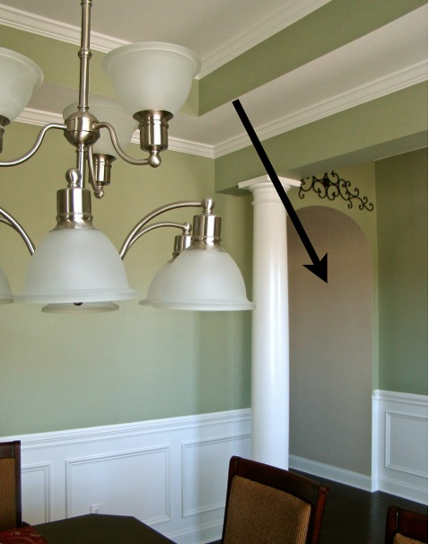What color should I paint the arches in my home?   Decorating by ...
