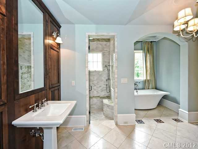 So where is location location location south charlotte for Spa like bathroom decor