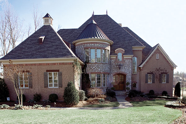 So where is location location location south charlotte for Houses that look like castles