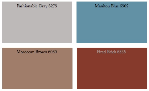 What paint colors go with gray furniture decorating by - What colors compliment blue ...