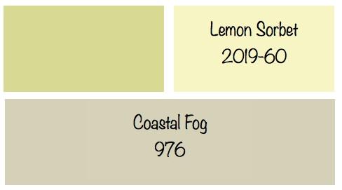 Lemon Sorbet And Gray Cheers To Beautiful Color