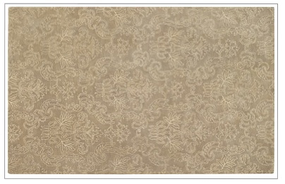 Gotham Damask Rug by Capel
