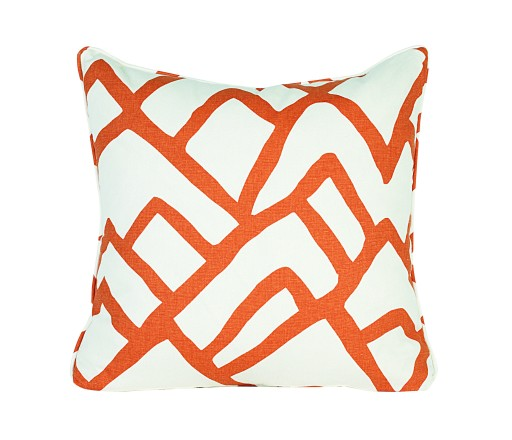 Zimba Tangerine Pillow by CR Laine