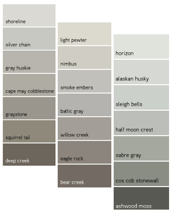 Color and painting tips decorating by donna color expert for Benjamin moore slate grey