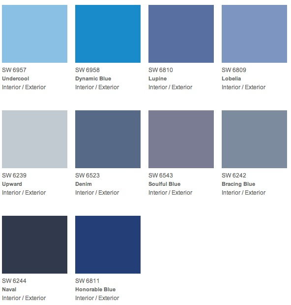 Best Blue Paint Color give your dad the gift of color for father's day | decorating