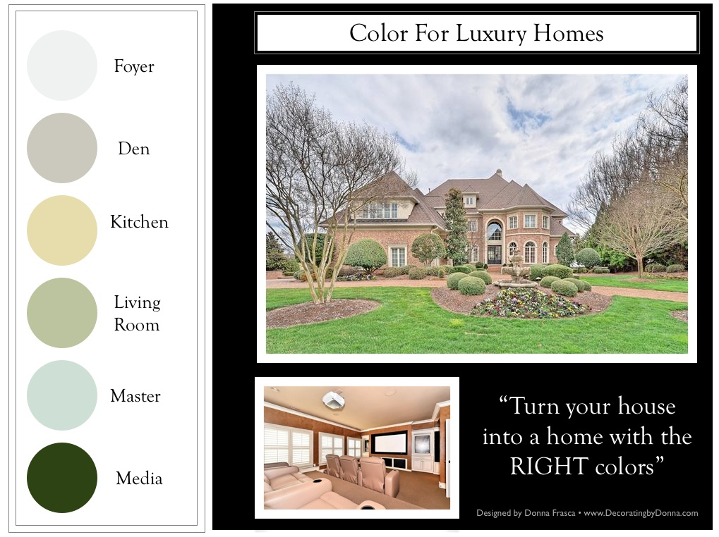 A Color Expert for Luxury Homes in Charlotte Who Specializes in ...