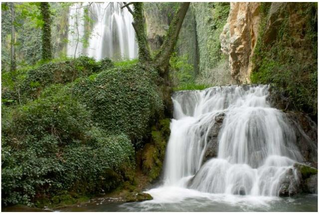 Waterfall mural