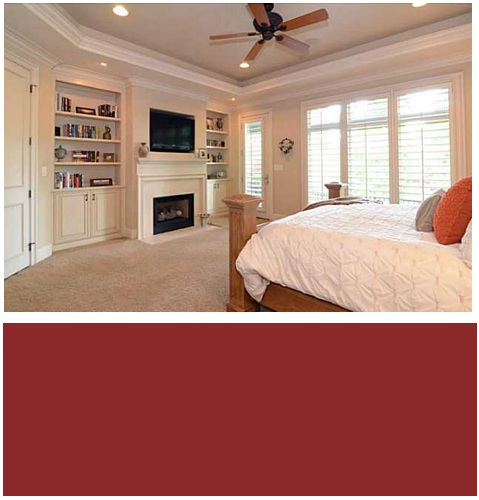 ballantye_country_club_homes_paint_color_bedroom