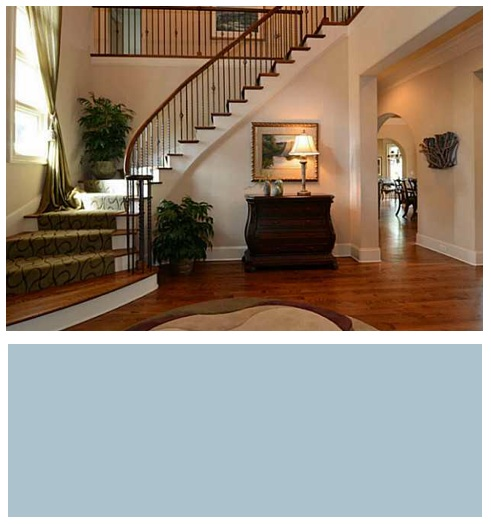 ballantye_country_club_homes_paint_color_foyer