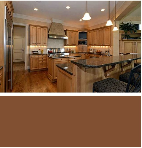 ballantye_country_club_homes_paint_color_kitchen