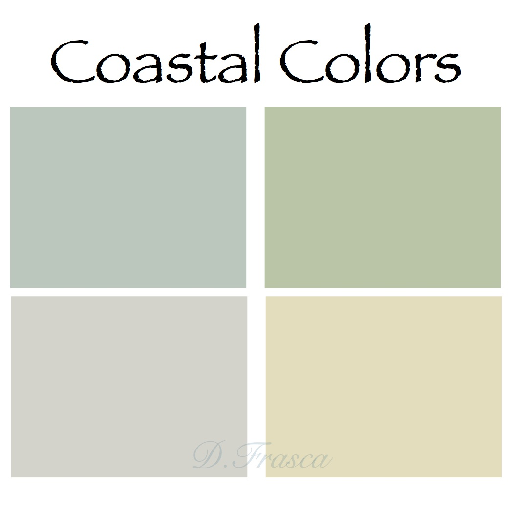Why do people like coastal colors so much decorating by for Paint color palette