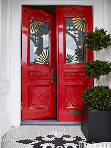 How To Choose Color For Your Front Door Decorating By
