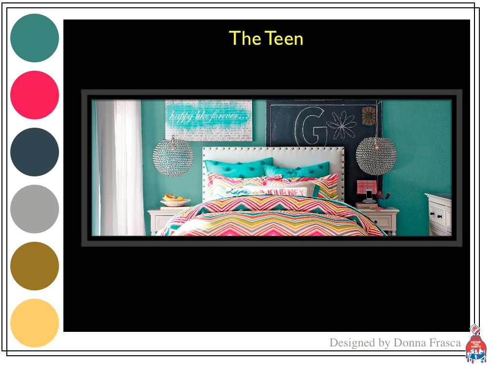 Decorating by donna color expert a color expert for Pottery barn teen paint colors