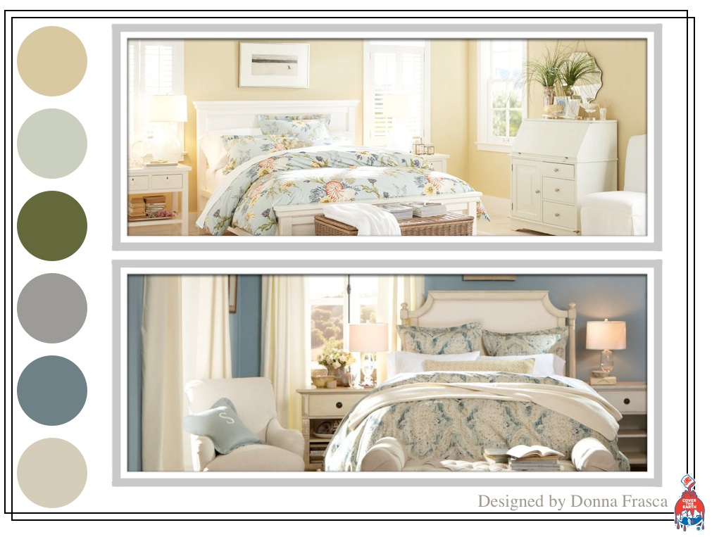 Pottery barn bedroom paint colors