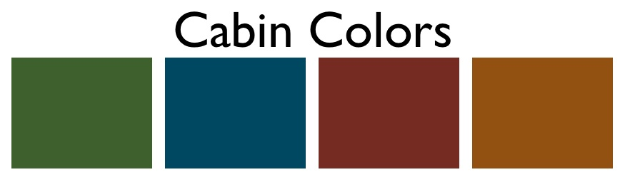 What Exactly Are Cabin Colors Decorating By Donna
