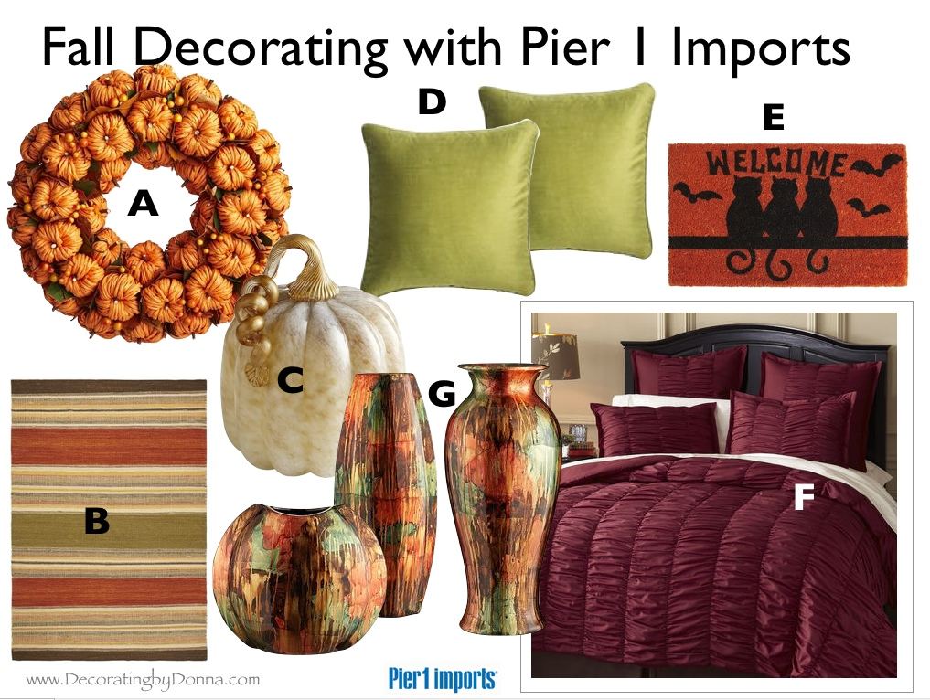 It\u0027s Time to Redecorate for Fall with Pier 1 Imports