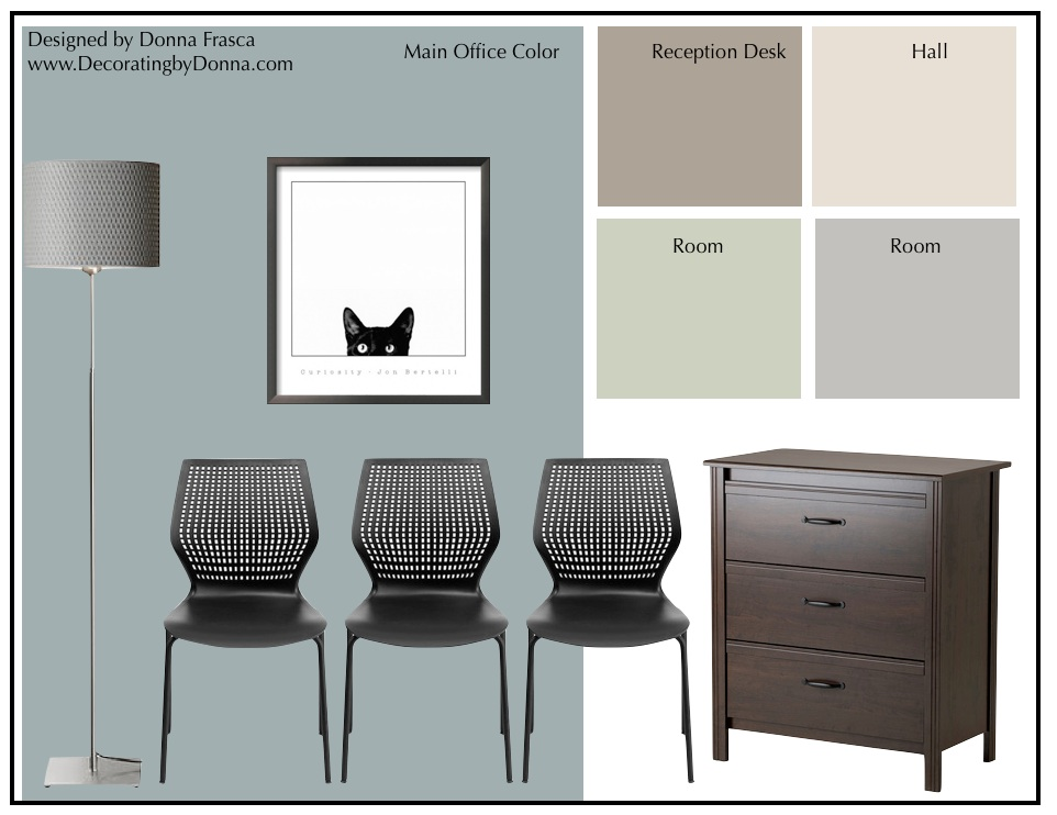 How To Design Color For A Veterinarian Office | Decorating by Donna • Color Expert
