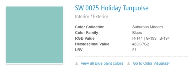 holiday Turquoise