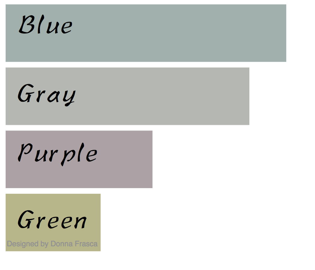 Color 101 what are the must have colors for the home color chart nvjuhfo Images