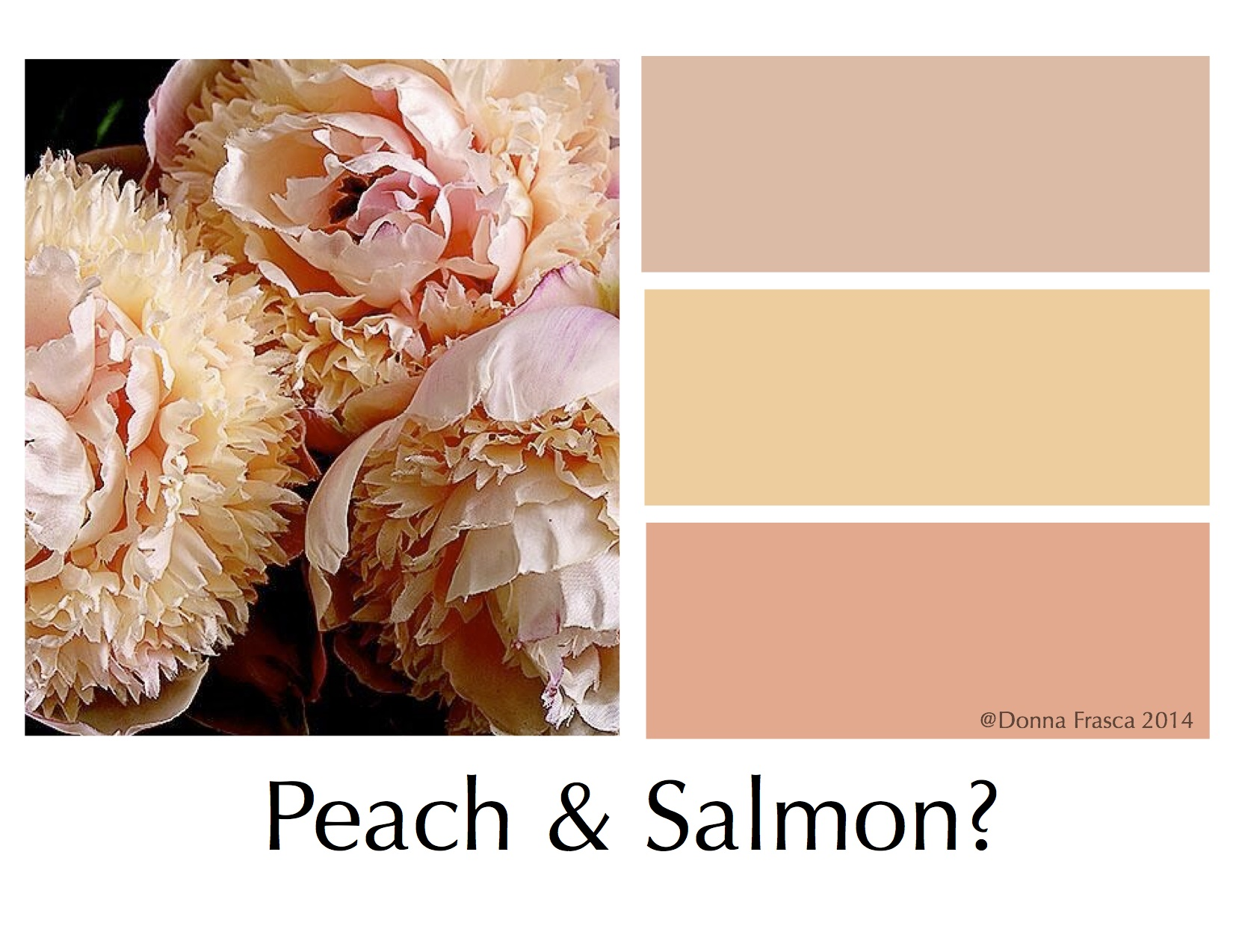 how to mix peach color