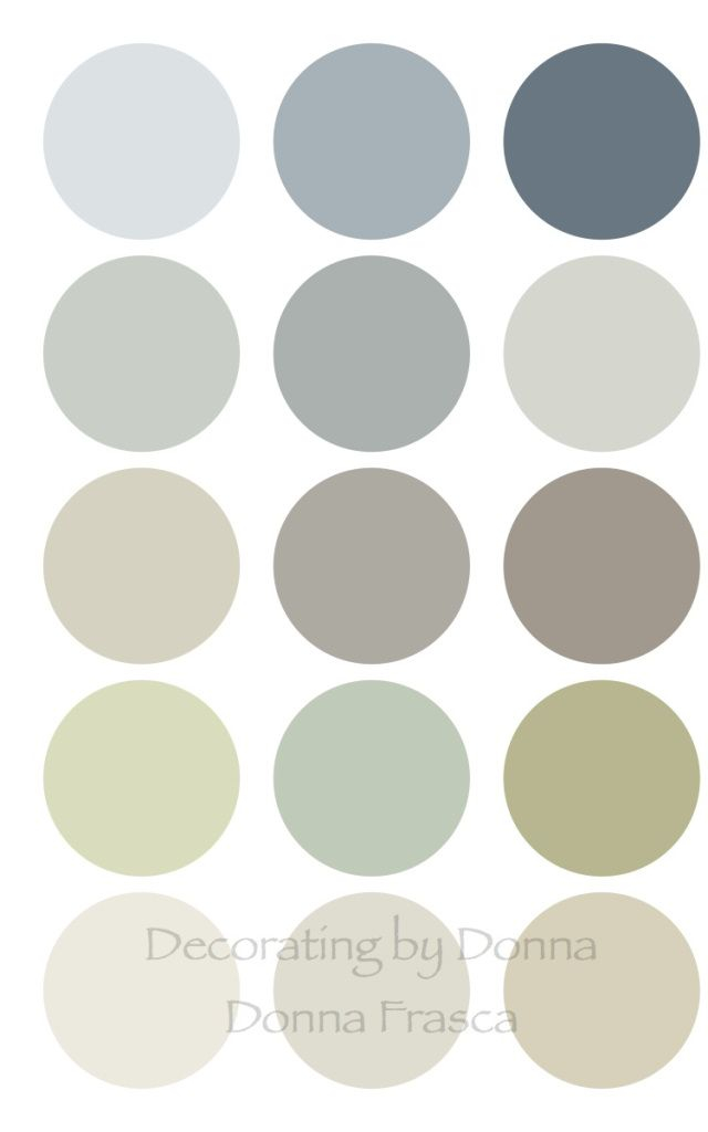 coastal color palette donna frasca. Color A La Carte   Decorating by Donna   Color Expert