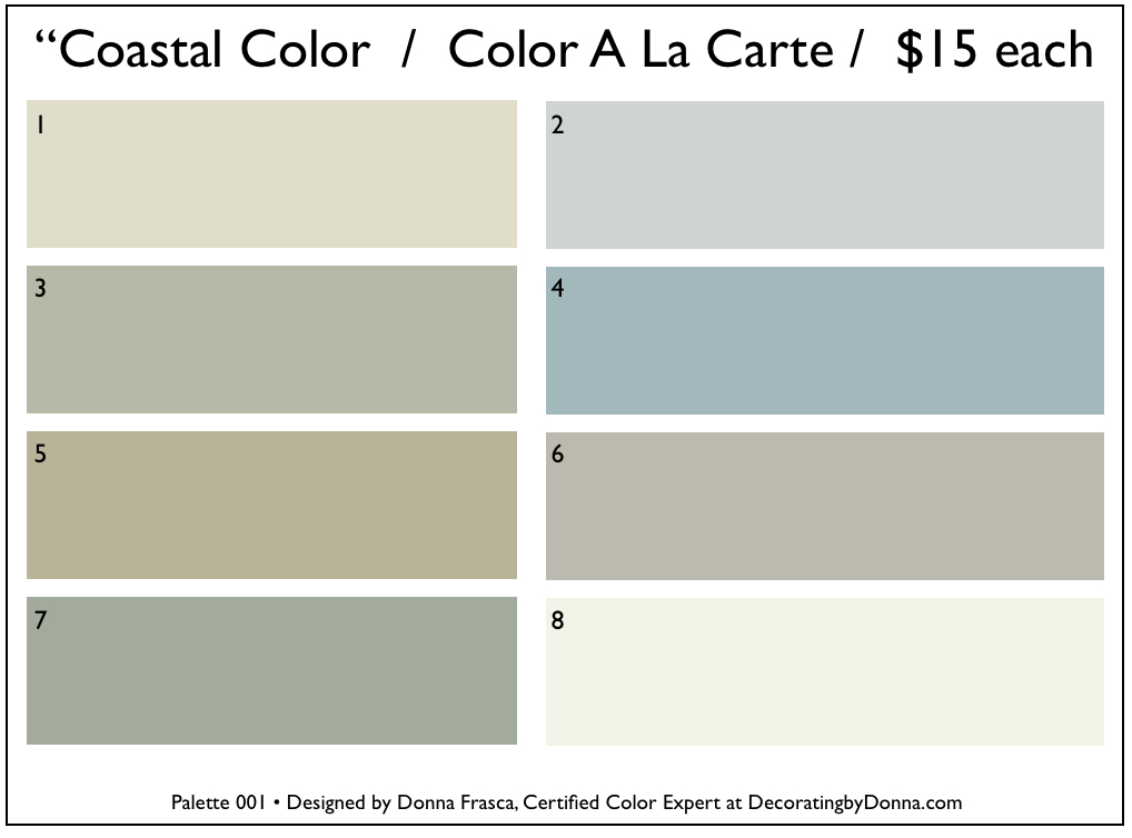 Coastal Colors That You Don T See At First Decorating By