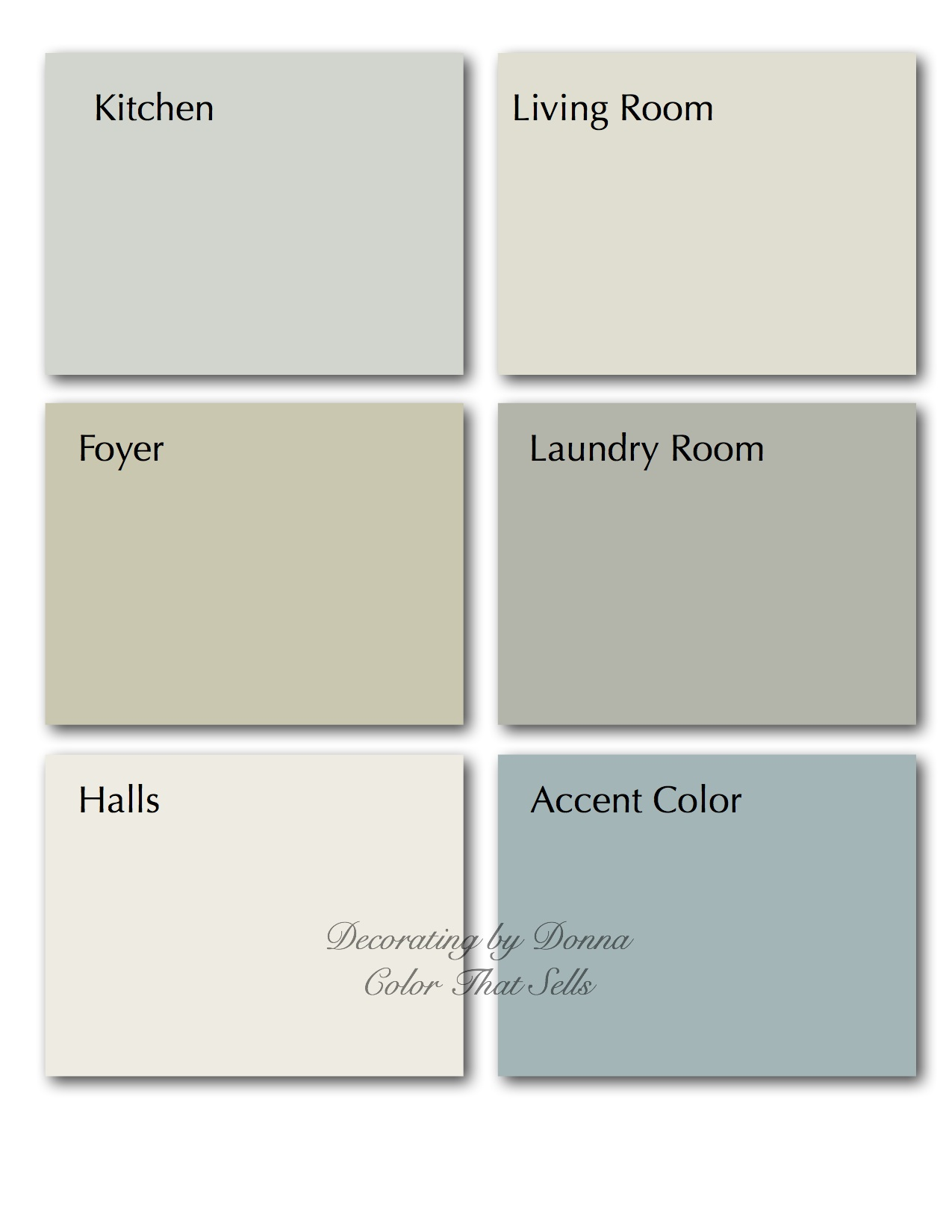 Colors Are Perfect For Your Home Decorating By Donna Color
