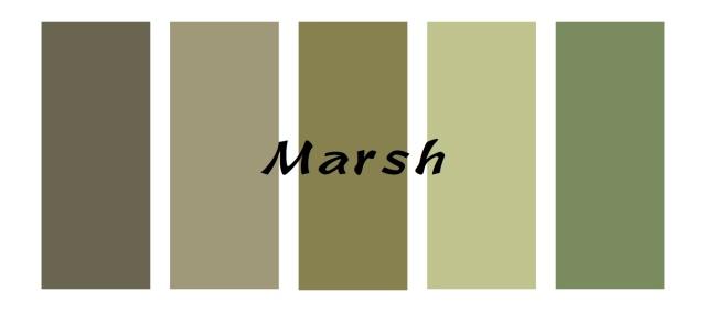 marsh colors