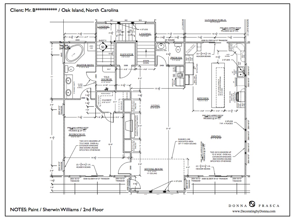 Coloring pages for donna flor - Floor Plan 007