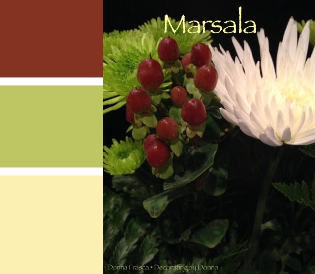 Marsala_green_color_palette