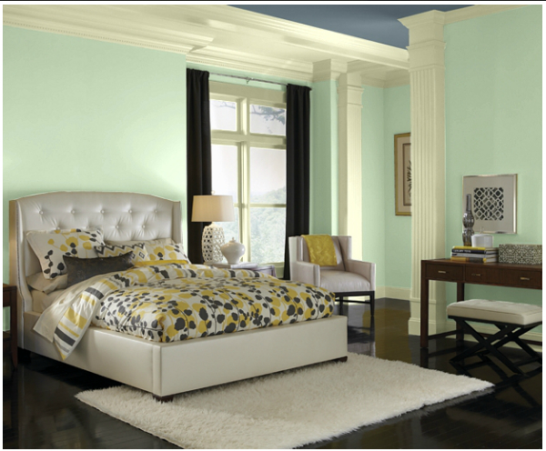 calming_green_bedroom_color
