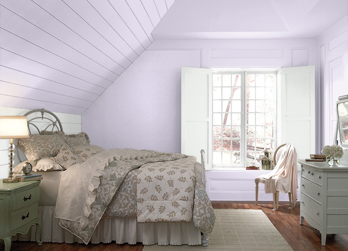 Bedroom Colors Lilac change the mood and energy of your bedroom with color | decorating