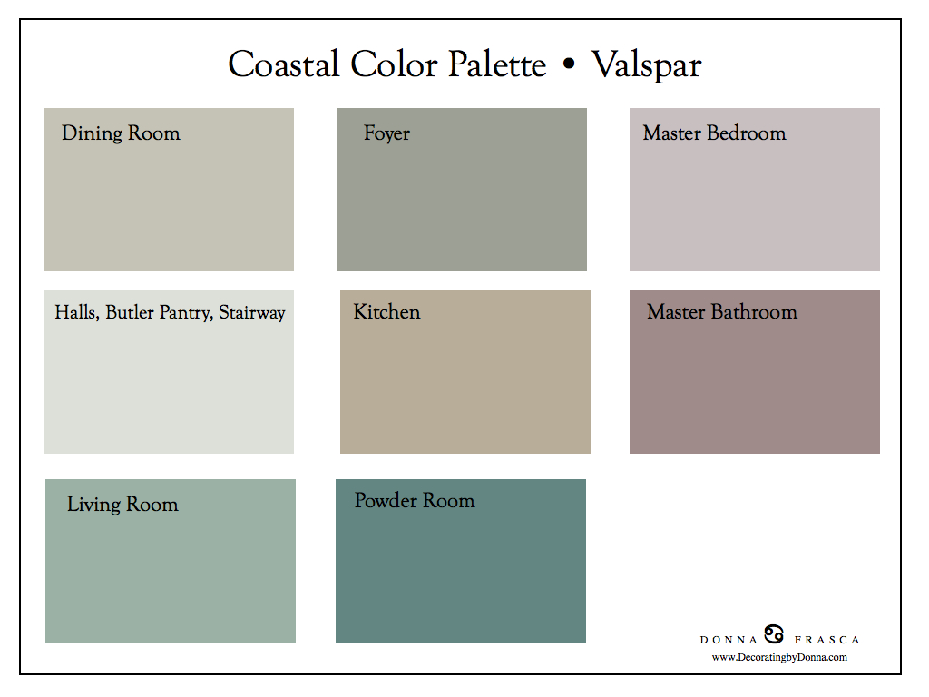... 23 Coastal Color Palette Ready Decorating By Donna U2022 Color Expert  Valspar Paint Colors ... Part 93