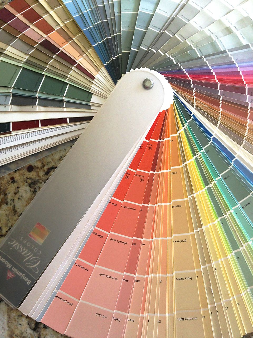 benjamin moore just has the best colors for a coastal color scheme