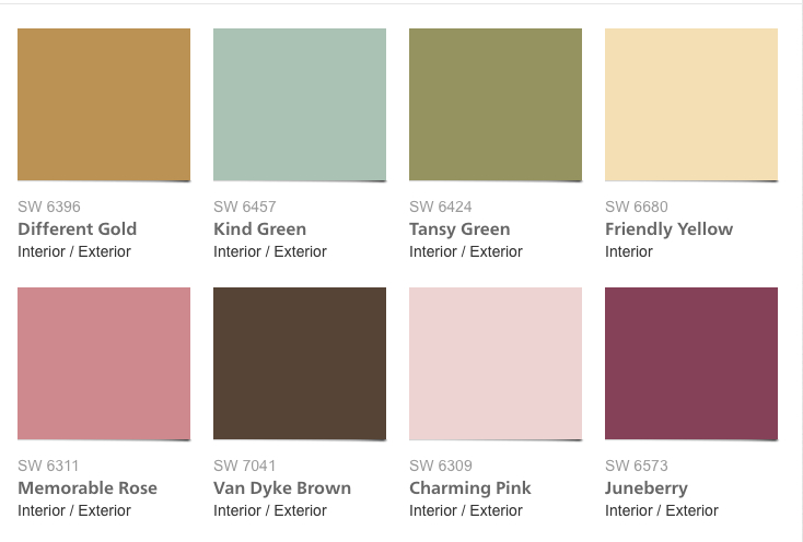 My 2016 Color Forecast  es True  e See My Picks For 2017 on sherwin williams 2016 color trends