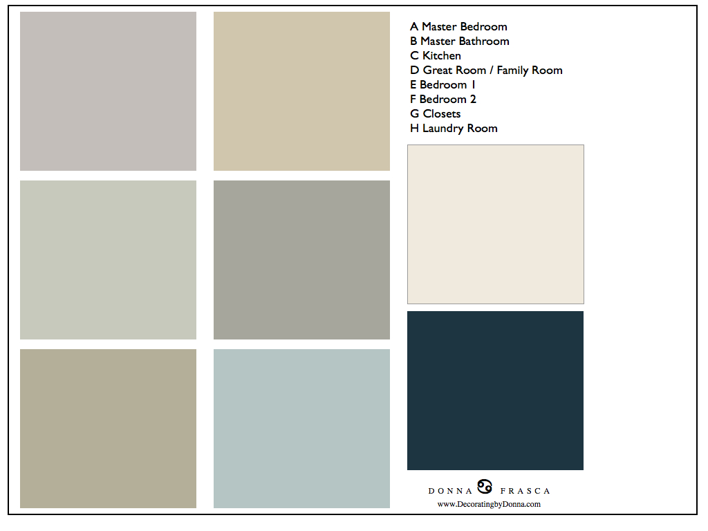 What colors go with gray decorating by donna color expert What color goes good with blue
