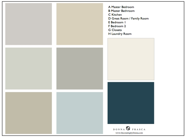 what colors go with gray decorating by donna