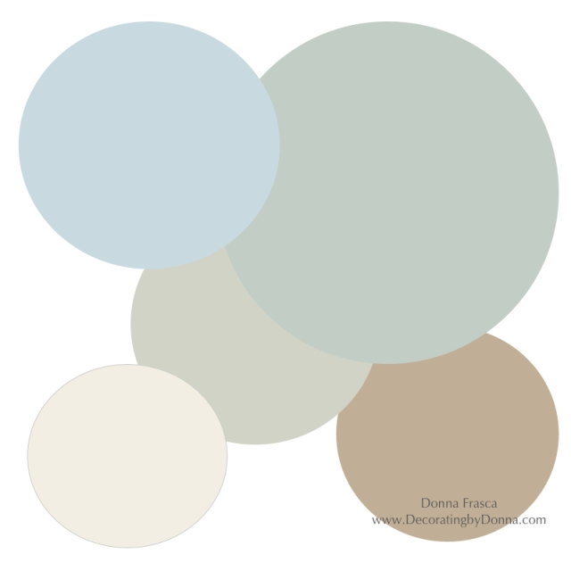 Holistic colors for staging your home