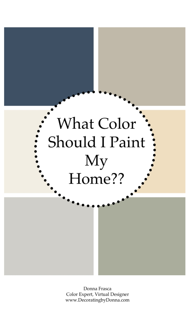 what color should I paint my home?